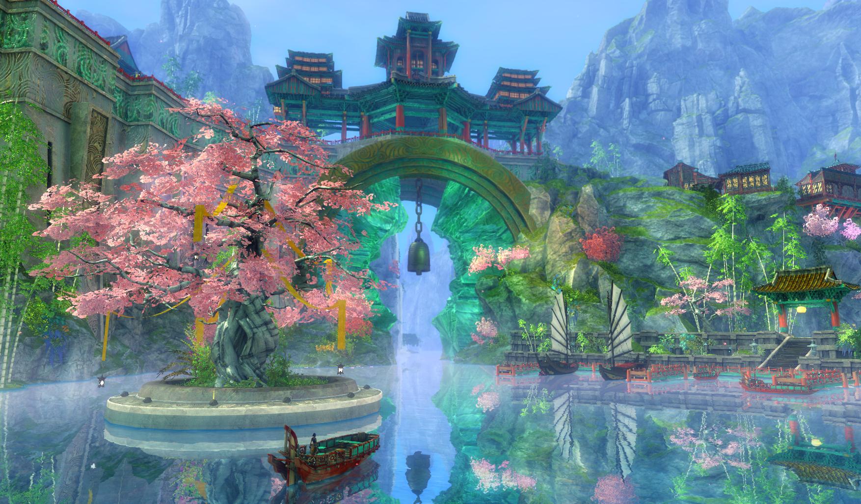Guild Wars 2's End of Dragons expansion.