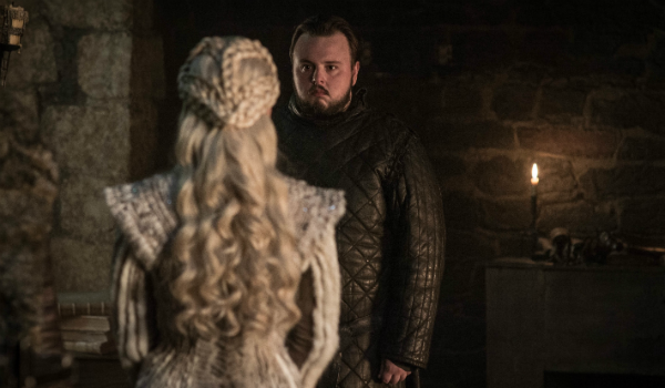 Game of Thrones Daenerys Targaryen Emilia Clarke Samwell Tarly John Bradley HBO
