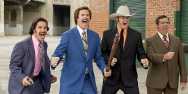 The Cubs Took An Anchorman-Themed Road Trip And The Pictures Are Great