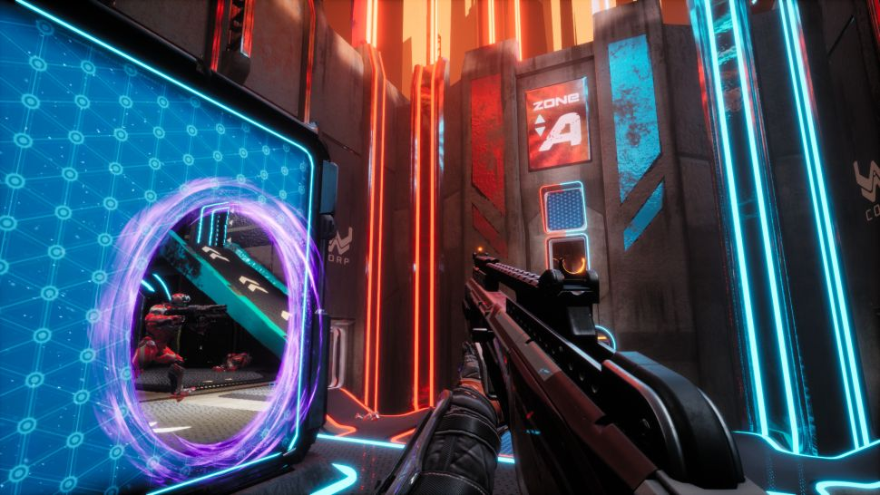 Splitgate is trying to bring back the arena shooter by mixing Halo, Portal, and Rocket League