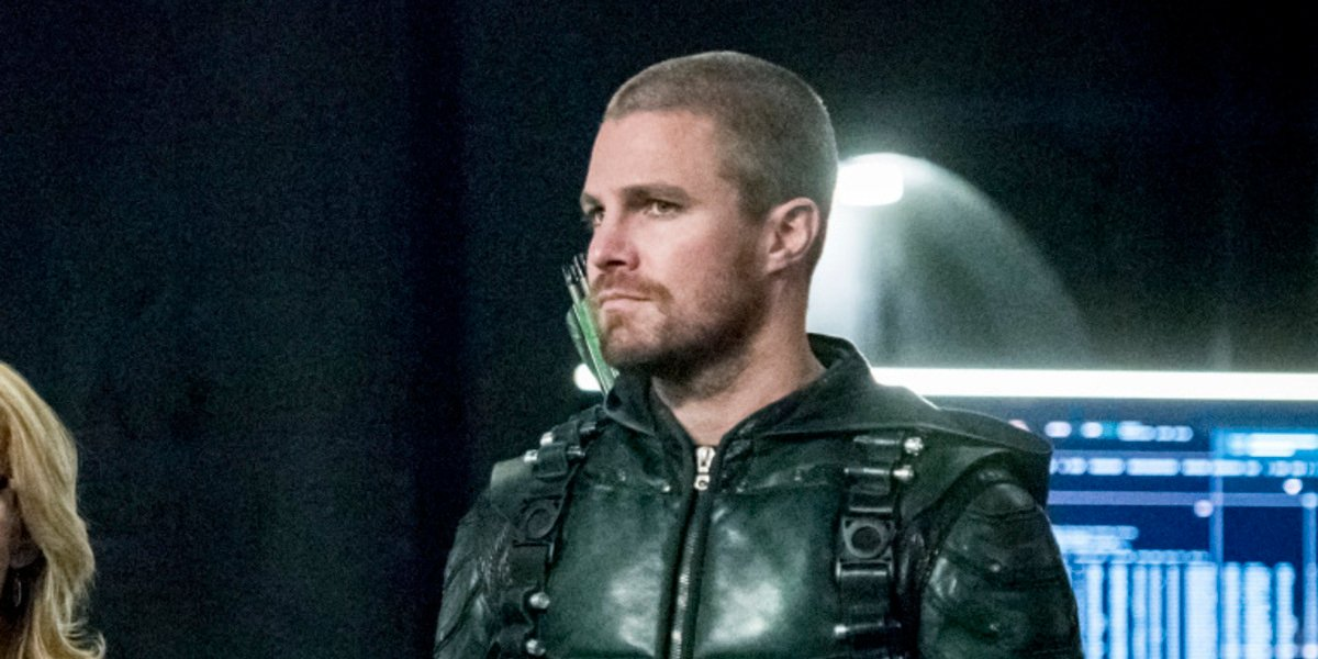 oliver queen arrow season 7 the cw stephen amell