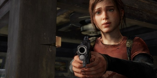 ellie taking aim the last of us
