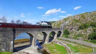 A bridge on the West Highland Line