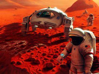 future mars mission