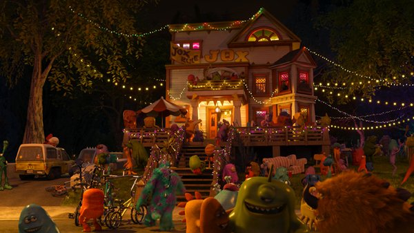 Pizza Planet truck in Monsters University