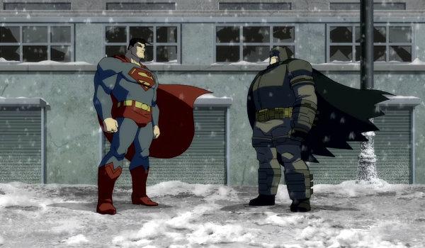 The Dark Knight Returns Batman Superman
