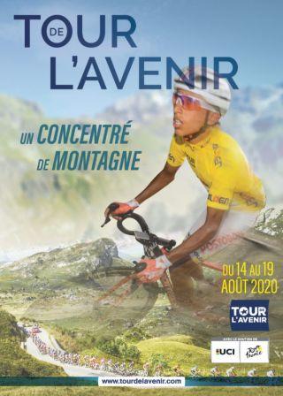 The poster of the 2020 Tour de l'Avenir