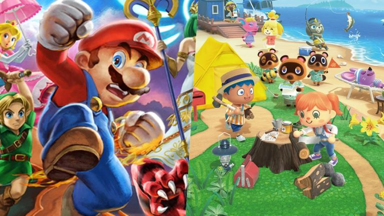 Super Smash Bros. Ultimate and Animal Crossing: New Horizons