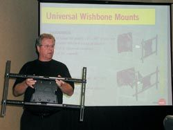 OmniMount Offers Educational Product Training During InfoComm 2007