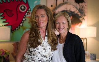 The Truth About the Menopause - Picture Shows: At Portland Hospital Sara Matthews, Mariella Frostrup
