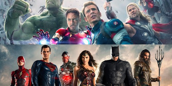 Age of Ultron and Justice League's posters