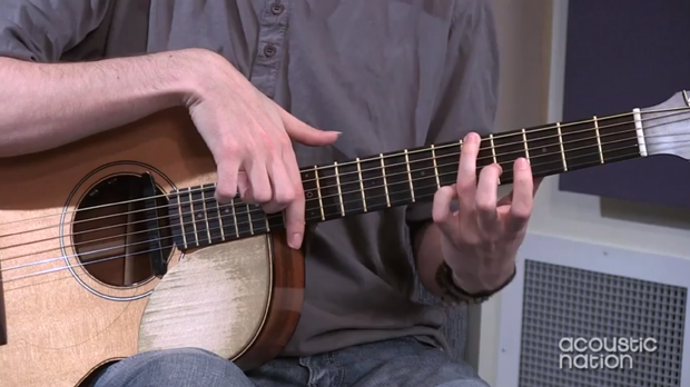 Lesson: Mike Dawes' One-Handed Harmonics