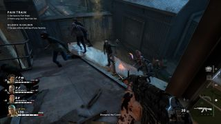 TechRadar writers and editors playing a pre-beta preview of Back 4 Blood