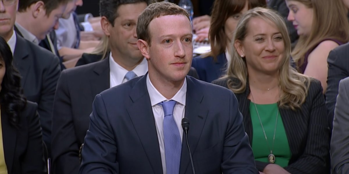 Mark Zuckerberg in The Facebook Dilemma