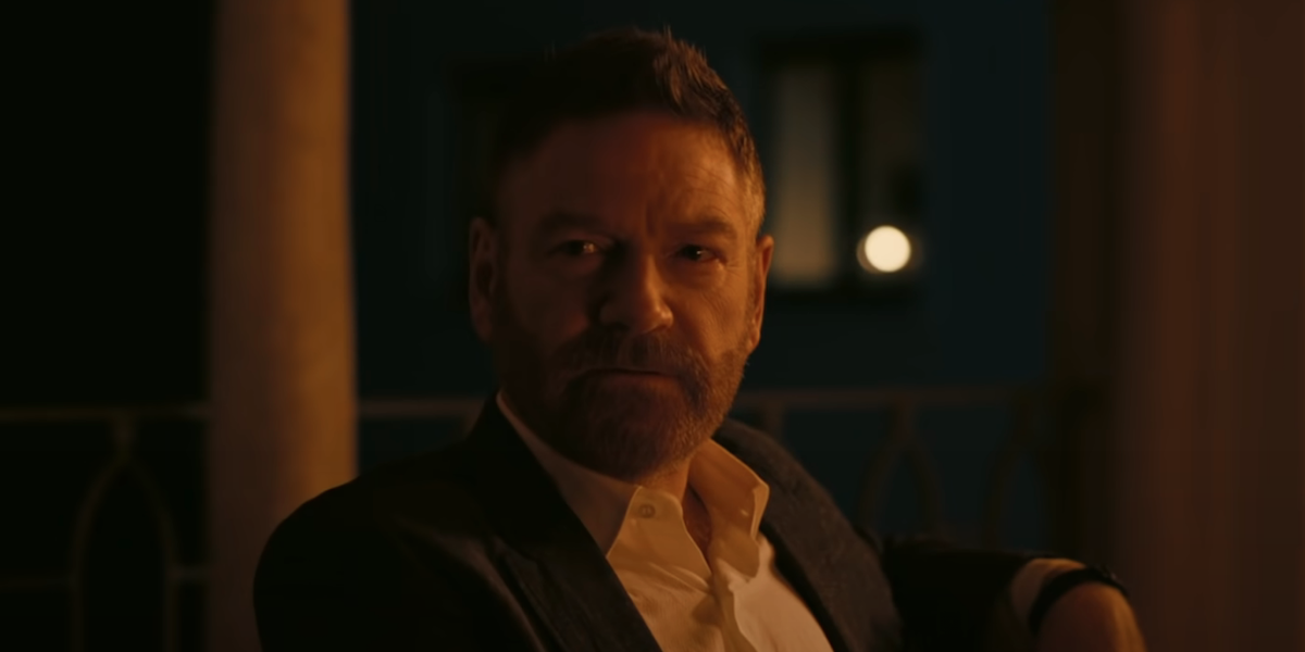 Kenneth Branagh in Christopher Nolan's Tenet