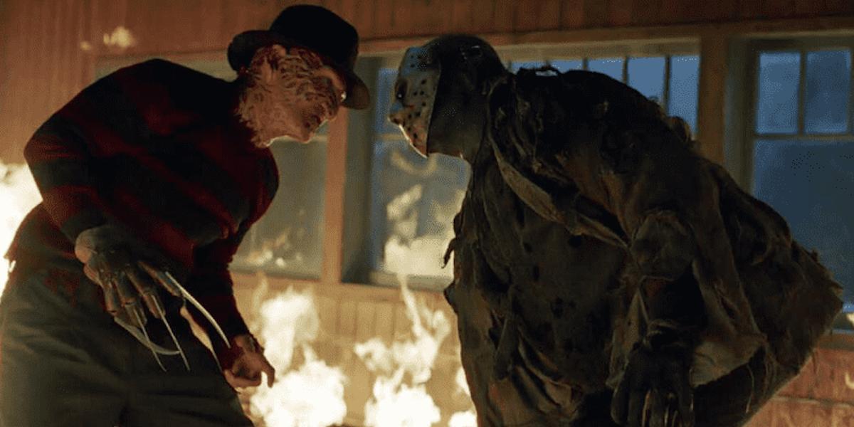 Freddy vs. Jason battle in 2003 movie