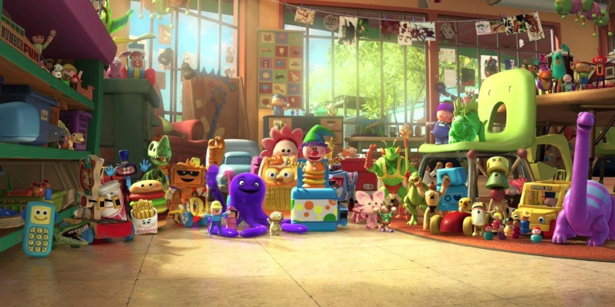 The daycare center from Toy Story 3