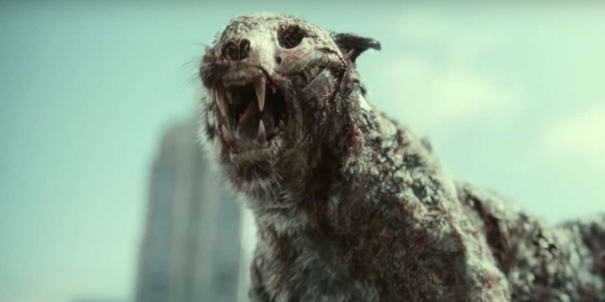 The zombie tiger from Zack Snyder's Army of the Dead