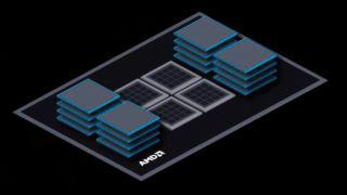 AMD X3D Chip Packaging