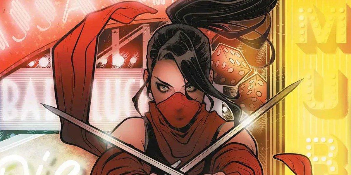 Daredevil anti-heroic assassin girlfriend Elektra