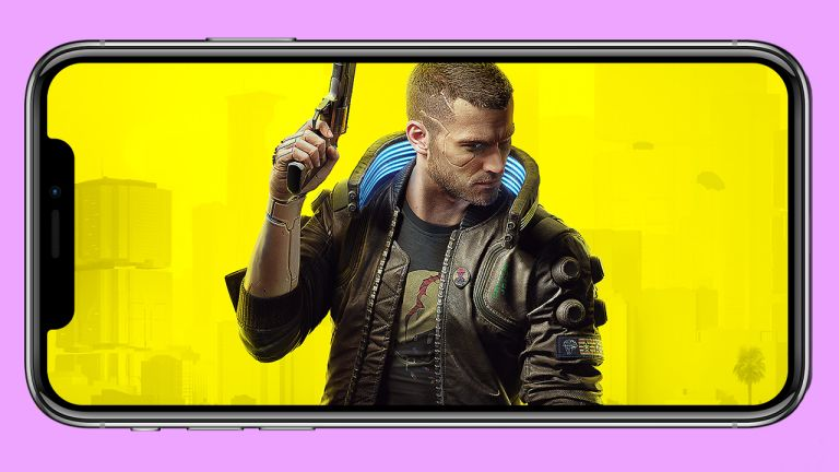 Cyberpunk 2077 on iPhone