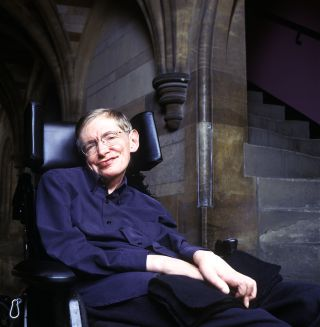 Stephen Hawking Smile