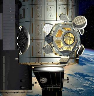 Europe Sends NASA New Viewport for Space Station