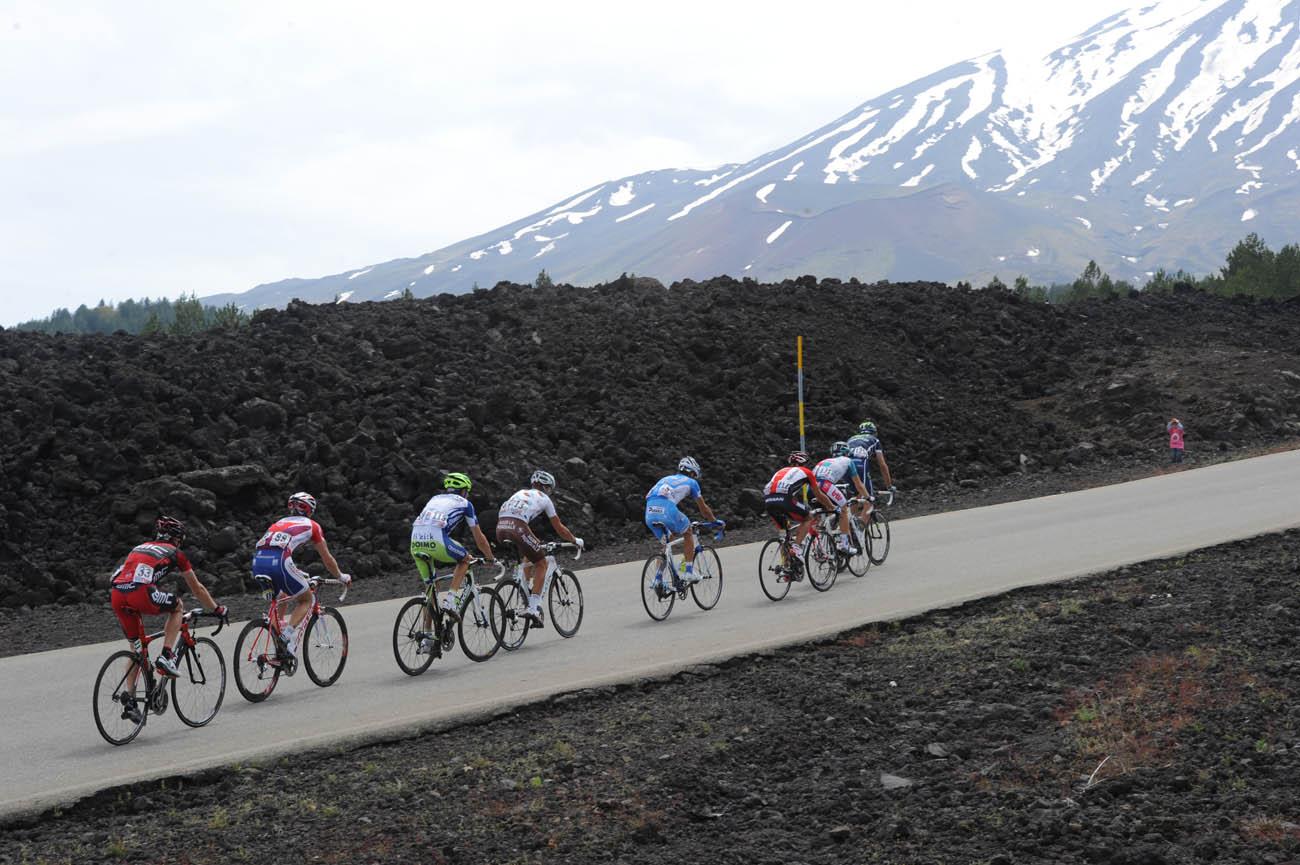 Mount Etna, Giro d
