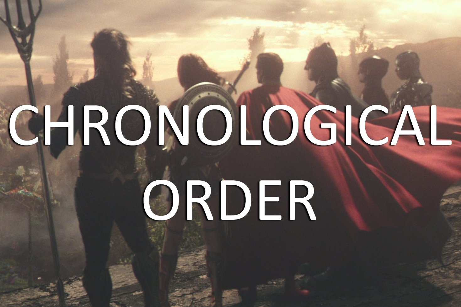 DC Extended Universe Chronological Order