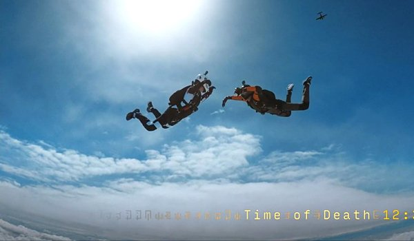 Travelers Season 2 skydiving on Netflix