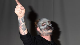 A picture of Slipknot frontman Corey Taylor
