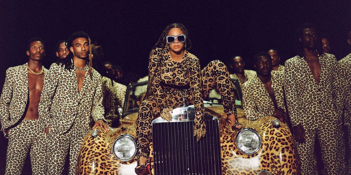 How Beyonce's Disney+ Movie Black Is King Compliments The Lion King - CinemaBlend