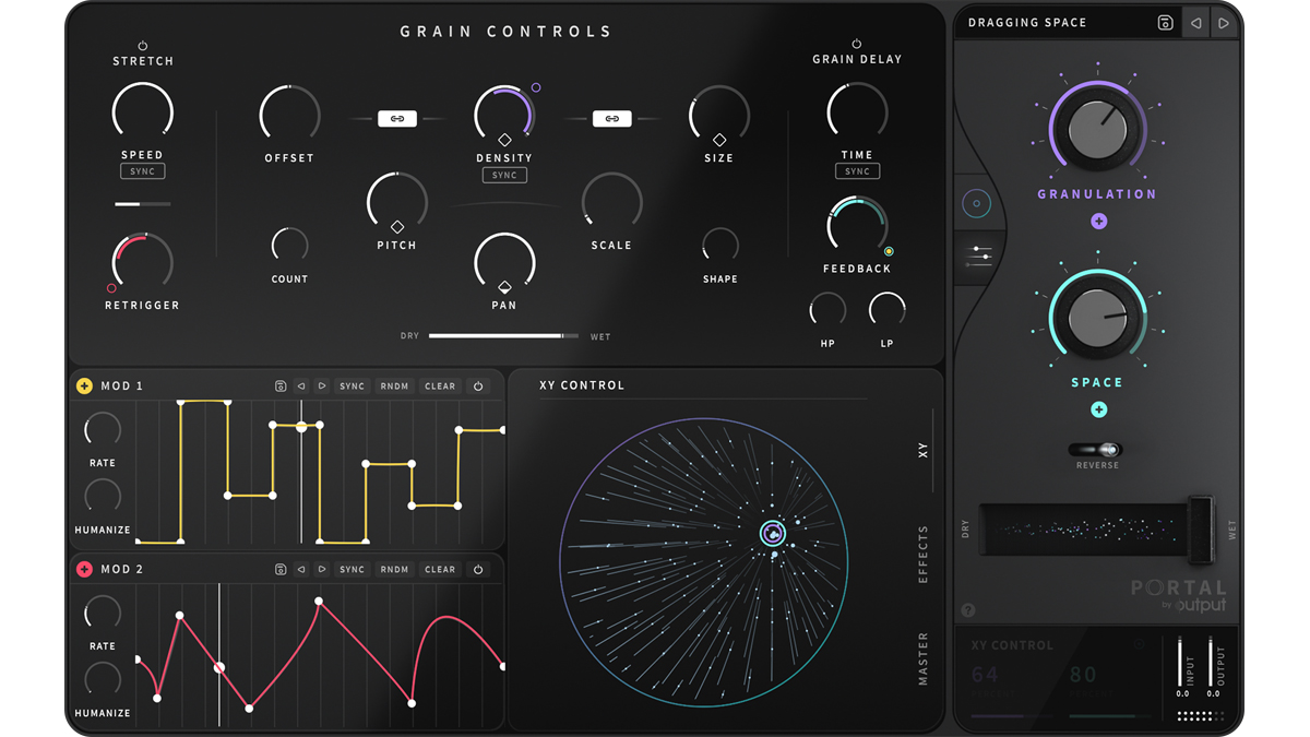 Output's Portal FX plugin takes you down the granular synthesis