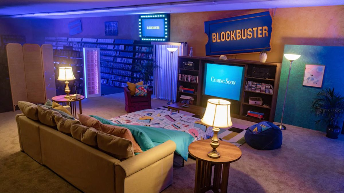 This Blockbuster store is on Airbnb for the ultimate 90s-themed sleepover