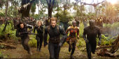 Anthony Mackie And Chris Evans Talk That Crazy Avengers: Infinity War Scene With 40 Heroes