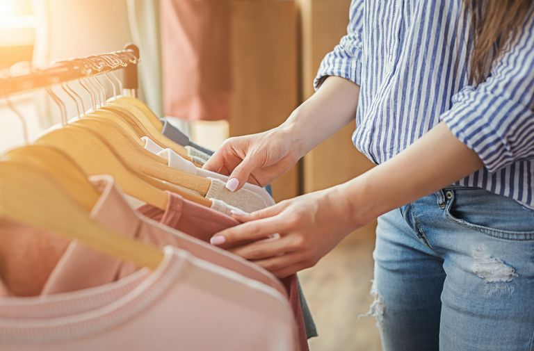 shoppers making decisions sustainability