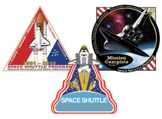 NASA Selects Finalists for End-of-Shuttle Patch Contest