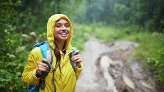How to stay dry while hiking