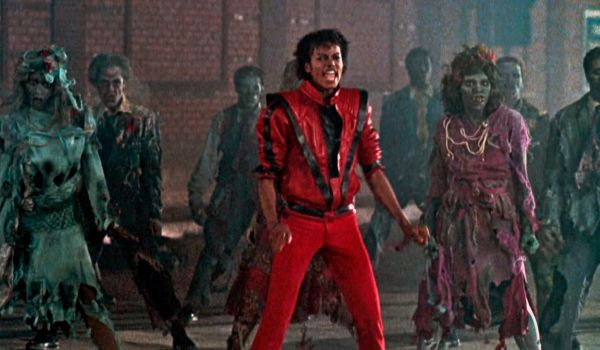 Michael Jackson's Thriller video in the 1980s