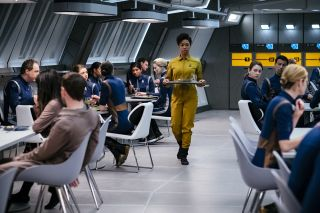 Michael Burnam on Star Trek: Discovery