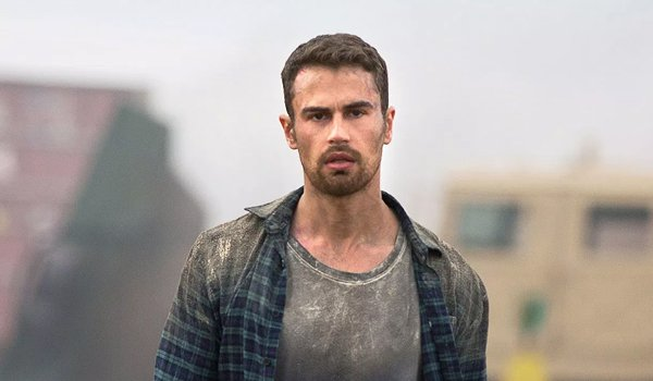 Theo James How It Ends In A Field Dirty Clothes