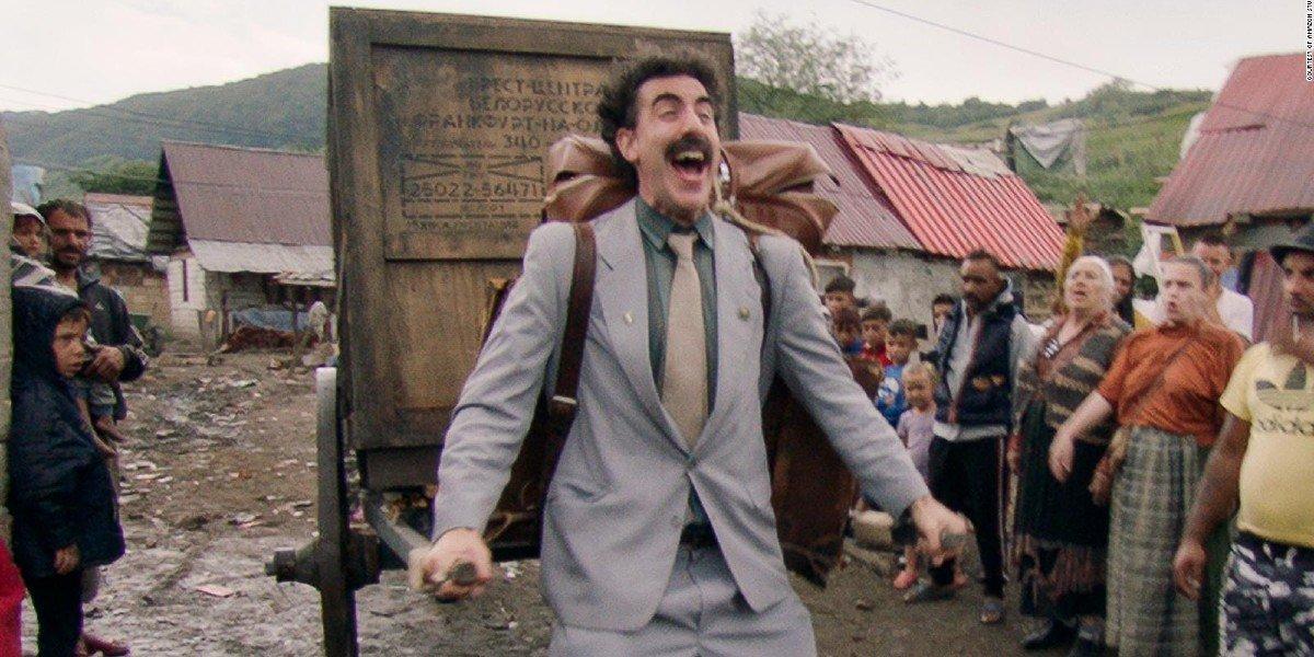 Borat (Sacha Baron Cohen) in 'Borat 2'