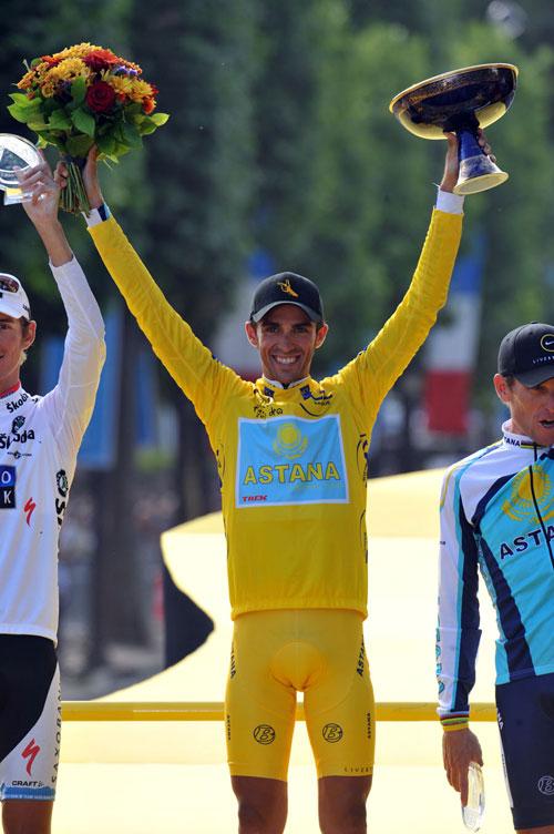 Alberto Contador, Tour de France 2009, stage 21