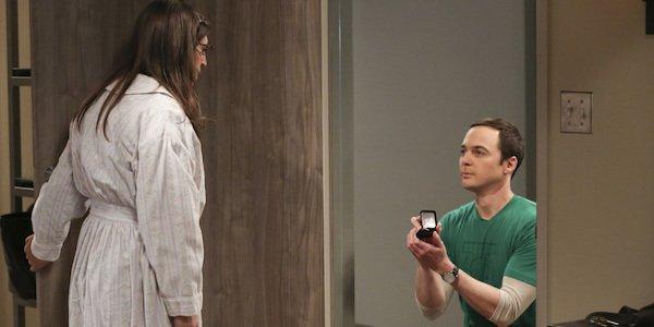 shelon proposing to amy on big bang theory