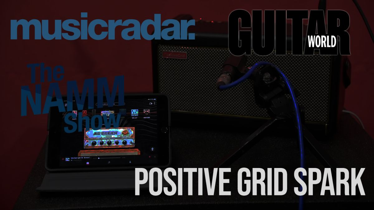 NAMM 2020 VIDEO: Positive Grid's Spark amp, direct from the showfloor