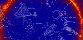 gamma ray constellations