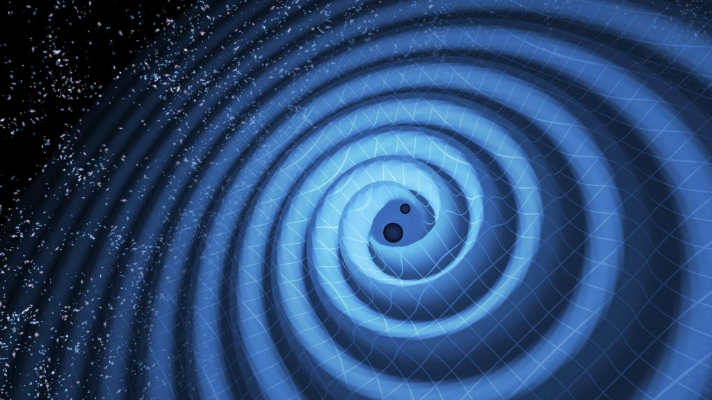Did a holographic phase transition in the early universe release gravitational waves?