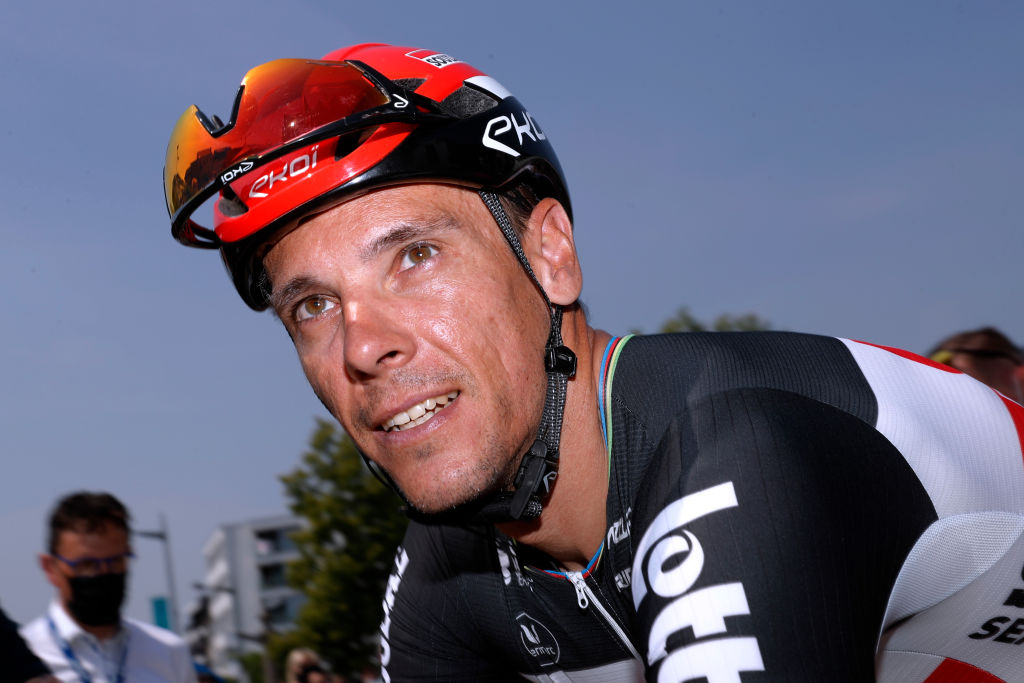 MAARKEDAL BELGIUM JUNE 09 Philippe Gilbert of Belgium and Team Lotto Soudal at start during the 90th Baloise Belgium Tour 2021 Stage 1 a 1753km stage from Beveren to Maarkedal baloisebelgiumtour on June 09 2021 in Maarkedal Belgium Photo by Bas CzerwinskiGetty Images