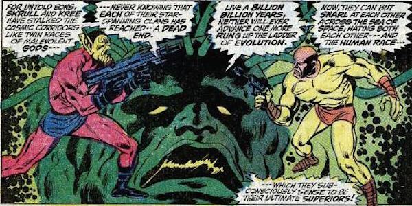 Kree vs Skrull