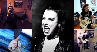 Lzzy Hale and an all-star group cover Pantera